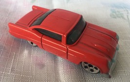McDonalds Happy Meal Toy 2001 Hot Wheels 2K57 Glo Rider Glo-Rider Vehicle Red - $2.95