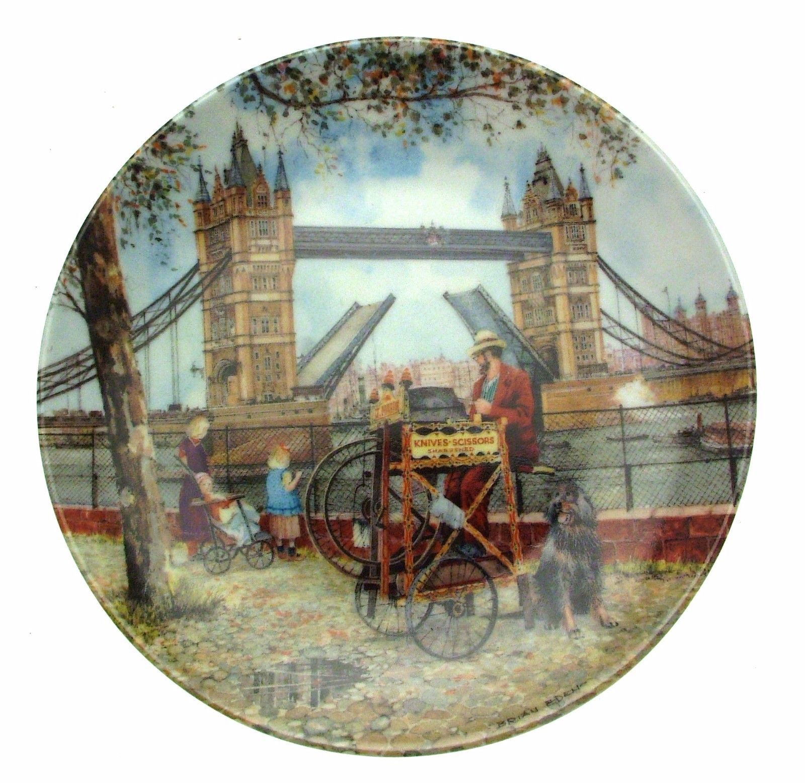 Davenport Cries Of London The Grinder Plate CP2539