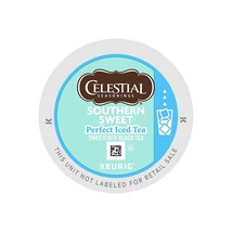 Celestial Seasonings Southern Sweet Iced Tea 22 to 88 Keurig K cup Pick Any Size - $19.98+