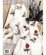 Roses For Anne Counted Cross Stitch LEISURE ARTS LEAFLET 845 - $3.50