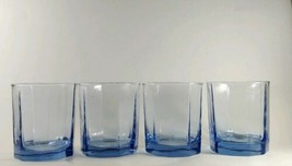 Anchor Hocking Cobalt Blue Essex Panel 10 Oz. Glasses Tumblers - Set of 4 - $23.36