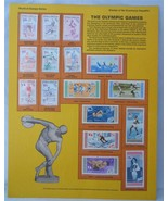 Postal Commemorative Society World Of Stamps Series The Olympic Games - $12.99