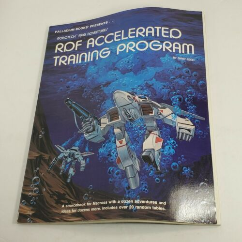 Primary image for Robotech The Role-Playing Game, Book ACCELERATED TRAINING PROGRAM