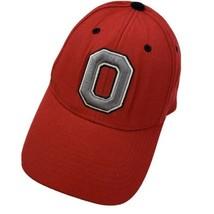 Ohio Buckeyes Red Adjustable Adult Ball Cap Hat - $10.29