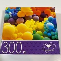 "CARDINAL 300 Piece Puzzle 14"" x 11"" COLORFUL MULTI COLOR BALLOONS - $8.55"
