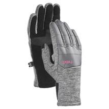 HEAD Jr Junior Girls Lt Gray Pink Hybrid Sensatec Touchscreen Winter Gloves NWT image 1