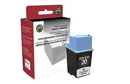 Inksters Remanufactured Black Ink Cartridge Replacement for HP C6614DN (HP 20) - $27.93