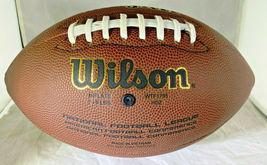 PATRICK MAHOMES / AUTOGRAPHED FULL SIZE NFL LOGO WILSON BRAND FOOTBALL / COA image 3