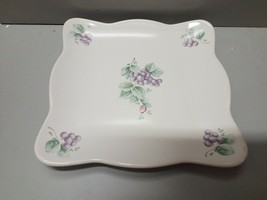 "Pfaltzgraff Grapevine 8 5/8"" Square Buffet Plate - $14.84"
