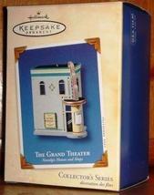 2003 Hallmark 20th in Nostalgic Shops & Houses Series ~ The Grand Theater ~ MIB - $20.00