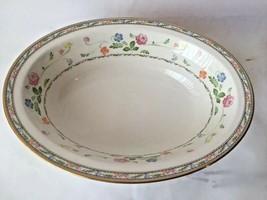 "Noritake Japan Finale 10"" Oval Vegetable Bowl Fine China Porcelain EUC - $19.79"