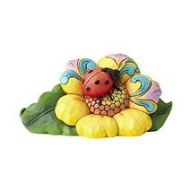 Enesco Jim Shore Heartwood Creek Mini Ladybug on Flower - $82.27