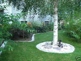 GE-7000 Garden Edging Lawn Landscape Molds (4) Make Stacked Concrete Walls Too image 3