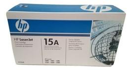 HP LaserJet Toner Cartridge 15A Black C7115A - $28.04