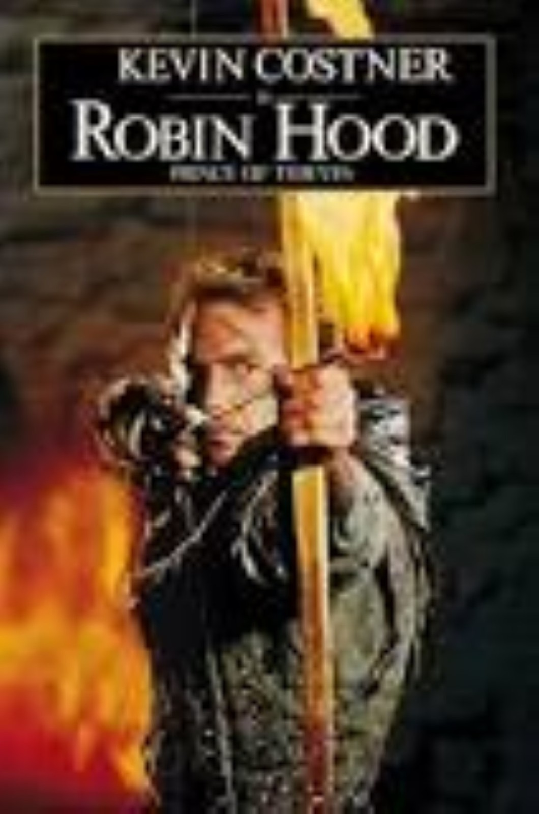 Robin Hood, Prince of Thieves Vhs