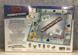 Brand New Sealed Norristown-Opoly Board Game Monopoly Pennsylvania Made in USA image 2