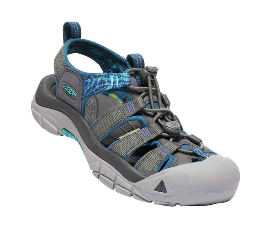Keen Newport Hydro Size 7 M EU 37.5 Women's Sports Sandals Magnet / Surf The Web