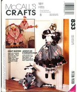 Uncut Faye Wine Draftbuster McCalls 833 Pattern Door Draft Stopper Cow C... - $6.99