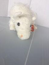 1 X Ty Beanie Buddies - Roam the White Buffalo baby plush. - $9.49