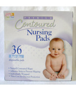 1 box of 36 Premium Contoured Nursing Pads by Being Well Baby - $5.93