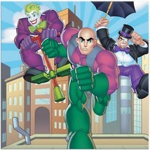 DC Super Friends Birthday Party Paper Lunch Dinner Napkins 16 per packag... - $4.21