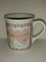 Vintage 1994 Previous Moments Coffee Mug Daughter Source of Joy and Love - 8 oz - $22.76