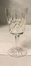 """LISMORE by Waterford Crystal WIne Goblets Glasses 13 oz  6 7/8"""" Tall - $74.25"""