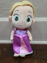 "Disney Store Tangled Princess Rapunzel Toddler Plush Doll - 12"" - $13.16"