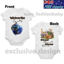 d1071e2fff48 We Love The Earth#Bodysuit_Cotton_ Baby_Boy_Girl_Clothes_ Romper#Outfits...  - $55.00+
