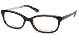 NEW Kate Spade JAZMINE 0X49 Havana Eyeglasses Frame 51-17-140mm - $53.89