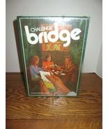 1972 Challenge Bridge Book Shelf Game-A Duplicate Bridge Diversion-FACTO... - $24.95