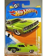 2012 Hot Wheels #48 New Models 48/50 '71 HEMI CUDA Lime-Green w/Chrome 5... - $7.25