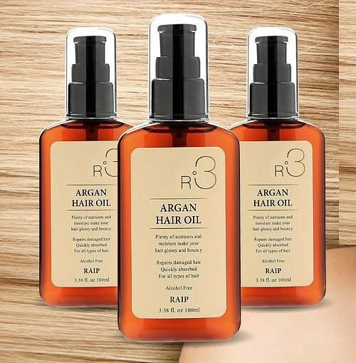 Primary image for Raip R3 Nourishing Argan Hair Oil Original Moisturizing Hair Shield