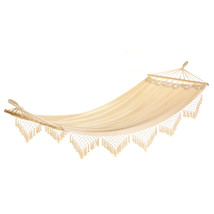 "13000B  Cape Cod Hammock Cotton Wood Frame 47"" x 106"" Max Wt. 264 lbs - $59.25"