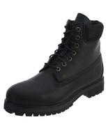 Timberland Mens 6 Inch Premium Boots Black/Black 10054 - $198.78