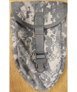 Good E-Tool Carrier ACU US Military MOLLE Tri Fold Shovel Pouch Entrenching - $2.99