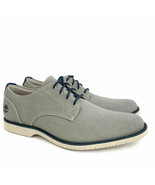 Timberland Men's Woodhull Light Grey Canvas Oxford Shoes A1XSB ALL SIZE - $39.35
