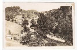 US Highway 40 near Cumberland Maryland RPPC Real Photo 1950c postcard - $6.80