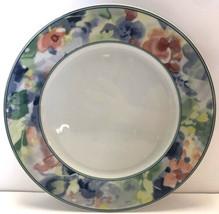 "Mikasa Fine China Garden Flair Salad Plate 8 1/4"" M5003 Multicolor Floral - $9.89"