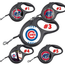 Chicago Cubs Retractable Dog Leash tangle free upto 110 lb pet leashes #3 - $22.30+
