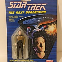 NEW 1988 Star Trek The Next Generation Lieutenant Commander Data Poseable Galoob - $12.77
