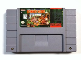 Donkey Kong Country (Super Nintendo Entertainment System, 1994) - $14.25