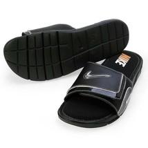 New Men's Nike Comfort Slide 2 Slide Sandals NWT NEW Flip Flops Black - 9 - £47.97 GBP