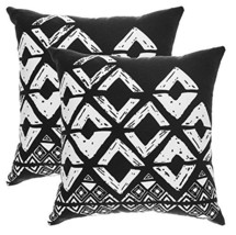 TreeWool, (2 Pack) Throw Pillow Covers Geometric Squares Accent Decorati... - $17.99