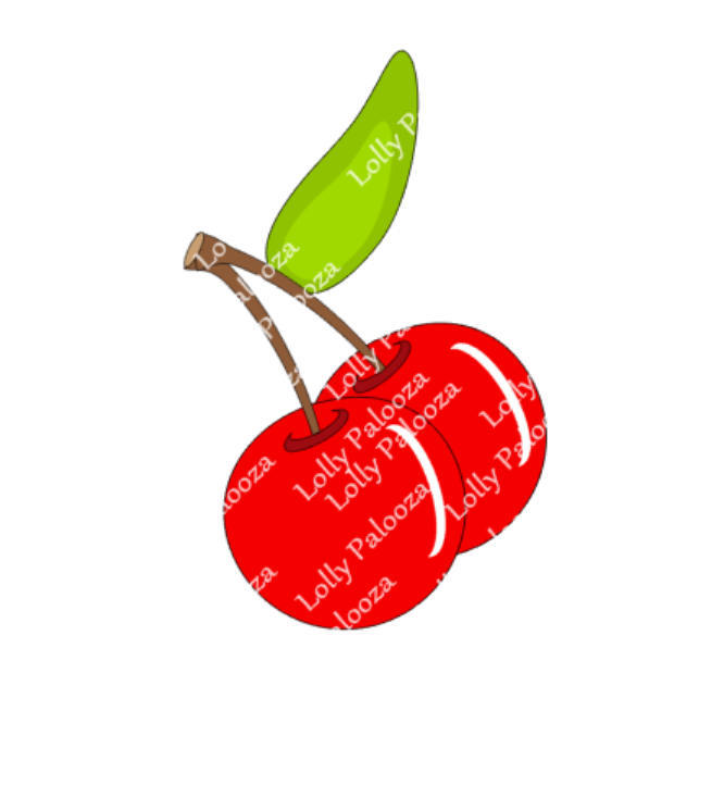 Cherries DIGITAL File -  Instant Download.  No Physical Product Shipped.  PNG &