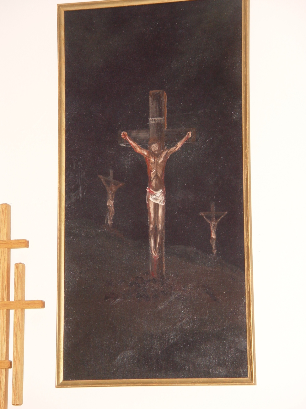 Contemporary Rendering of the Crucifixion : Wall Grouping