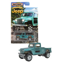 NEW Matchbox Anniversary Edition Metallic Green JEEP WILLYS 4x4 1:64 Die... - €12,79 EUR