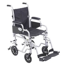Drive Medical Poly Fly Wheelchair With Footrests 18'' - $295.90