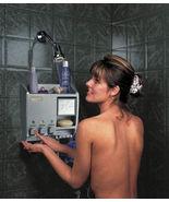 SHOWER Soap Shampoo Dispenser Organizer Mirror ... - $44.95