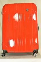 "Traveler's Choice 29"" Sedona new spinner red polycarbonate shell combo lock image 1"